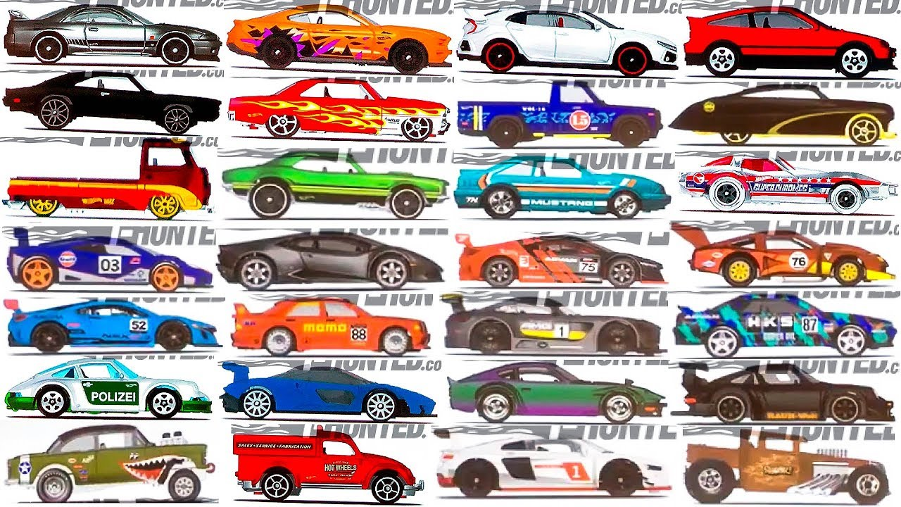 new 2019 hot wheels cars and series revealed youtube. Black Bedroom Furniture Sets. Home Design Ideas