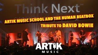 David Bowie tribute by Artik Music School and the Beatbox Brothers from Microsoft event 2016