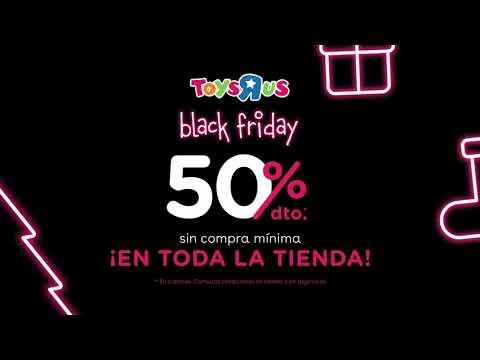 Toys R US 50% Black Friday.