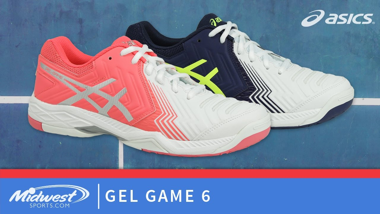 d29ee50a9c Asics Gel Game 6 Tennis Shoes - YouTube
