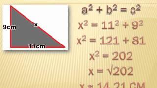 Geometry - Using the Pythagorean Theorem: 8th grade math