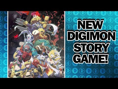 New Digimon Story game in development separate from Digimon Story: Cyber Sleuth Hacker's Memory!