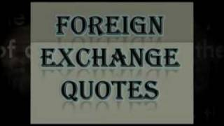 Foreign Exchange Quotes