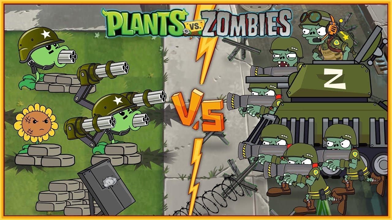 Plants vs Zombies Animation 2 Mega-Morphosis #3 (Series 2021)