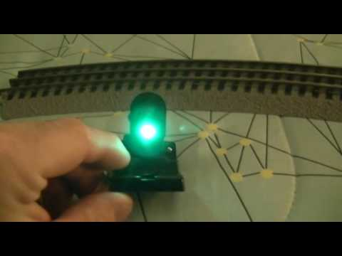 Review Of My Lionel Dwarf Signal With LEDs YouTube – Lionel Fastrack Wiring Signals