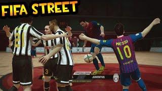 Fifa Street - Barcelona Vs Juventus - Partidazo de Futbol Sala