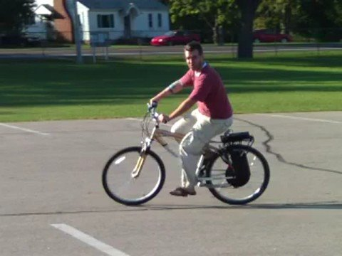 Download Electric Bike (e-bike) kit using Crystalyte hub motor