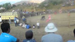 corrida de toros en porvenir sayapullo II