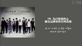 [韓中歌詞]Super Junior-旅行(A Short Journey)