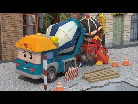 Робокар Поли - Правила дорожного движения - Все серии подряд - Сборник мультиков про машинки