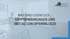 Was sind Kryptowährungen und Initial Coin Offering (ICO)?   Frankfurt UAS