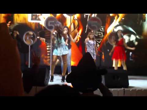 "Fifth Harmony - ""Tellin' me"" @ D23 expo 2013"