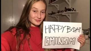 Eminem's Birthday Video Project 2018