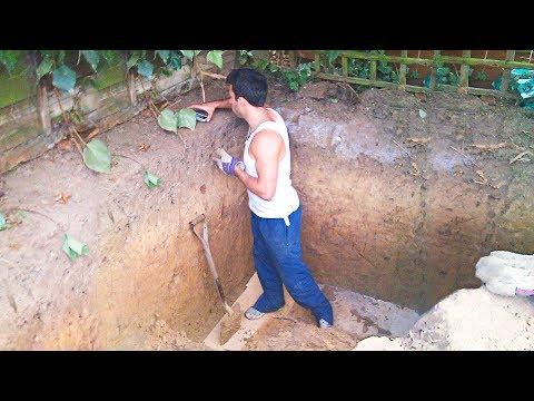 Видео: Никто не мог понять Зачем Он выкопал эту Яму! А когда увидели его Дом Под Землей были поражены!