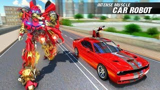 Muscle Car Robot Transforming: Robot Car Games (By Turbo Dreamz) Gameplay HD