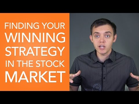 Finding Your Winning Strategy in the Stock Market