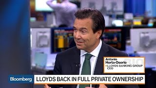 Lloyds CEO Says Still 'Much More to Do' at Lender