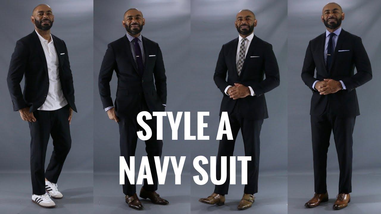 Navy Blue Suit Shirt Tie Combinations Bcd Tofu House