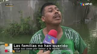 22 colonias de Reynosa, Tamaulipas sufren los estragos de #Hanna