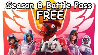 *FREE* Season 8 Battle Pass (Fortnite Battle Royale)