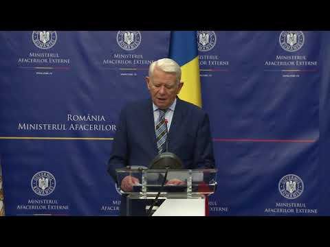 Declaraţii comune de presă Teodor Meleșcanu – Richard Paul Gallagher