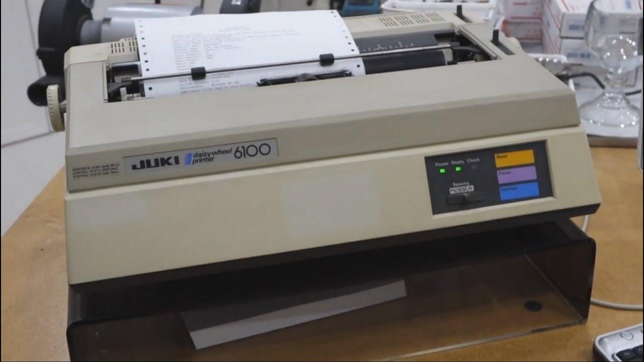 Printer vintage