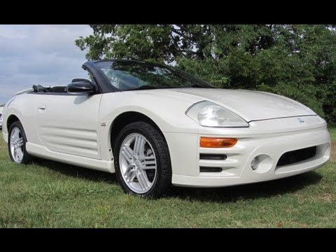 SOLD.2004 MITSUBISHI ECLIPSE V-6 GT CONVERTIBLE FOR SALE AT FORD OF