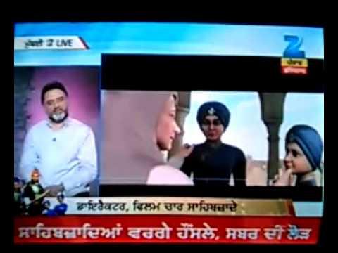 Chaar Sahibzade Interview With Harry Baweja & Shipra Goyal On Zee Punjabi Part-1