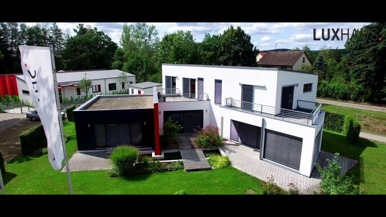 luxhaus musterhaus georgensm nd youtube. Black Bedroom Furniture Sets. Home Design Ideas