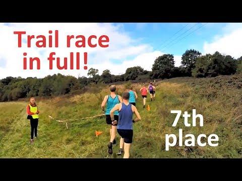 1 Hour Virtual Run: Trail Race In Full! (Treadmill Running Scenery)
