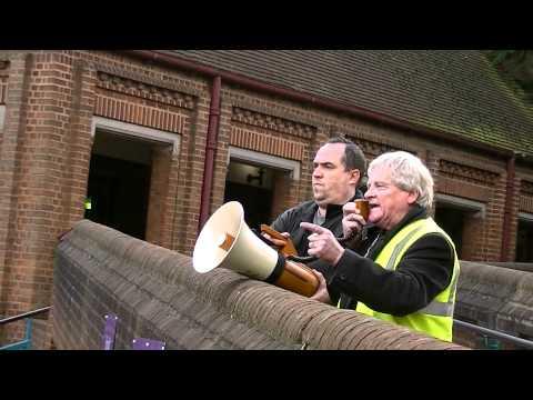 Hillingdon Strikes 30/11/2011 Wally Kennedy speaking
