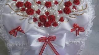 Свадебные аксессуары в красном цвете