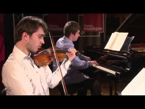 Debussy : trio pour piano violon violoncelle, par le Trio Milhaud