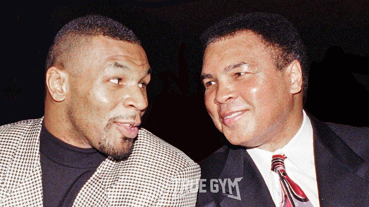 Эта встреча Мухаммеда Али и Майка Тайсона вошла в историю
