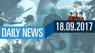 Dragon Age 4, CoD: WW2, Doom, Friday the 13th | Gamesworld Daily News - 18.09.2017