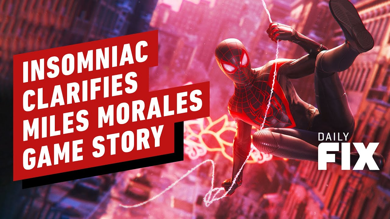 Insomniac Clarifies Confusing Points Around PS5's 'Miles Morales' Game - IGN Daily Fix - IGN