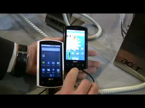 Gamma ACER dal MWC 2010 barcellona - beTouch E400, beTouch E110, Liquid-E - Video full hd