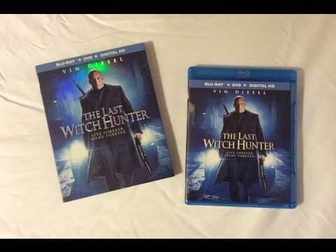 The Last Witch Hunter (2015) Blu Ray Review and Unboxing