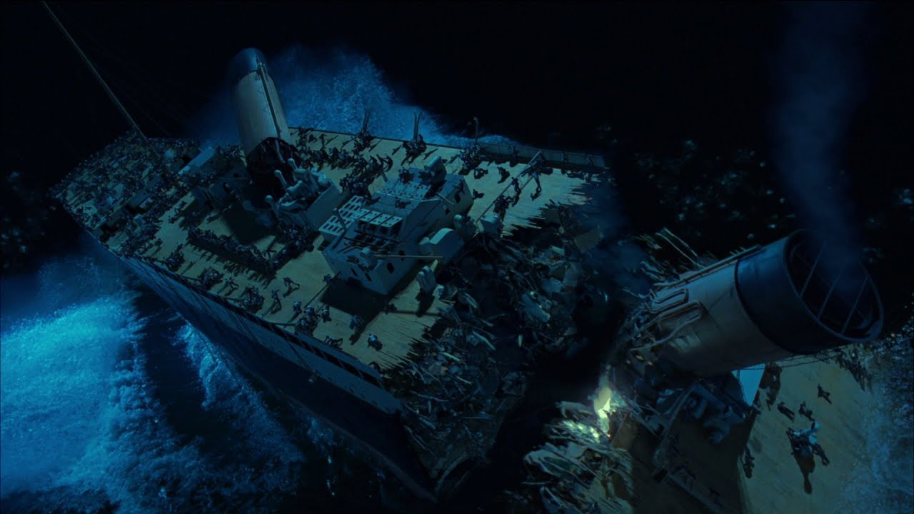 Download Titanic Breaks Scene