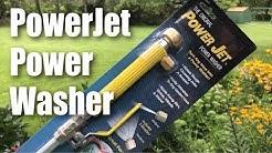 The Original POWER JET Power Washer Spray Hose Nozzle Review