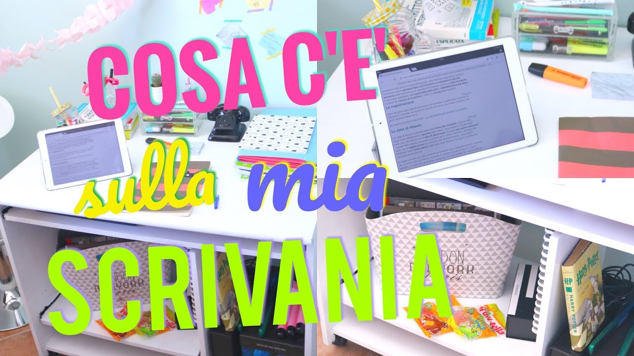 Come Organizzare La Propria Scrivania come organizzo la mia scrivania? idee creative