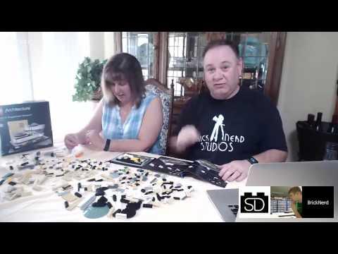 Bricknerd LiveBuild - LEGO Solomon R. Guggenheim Museum