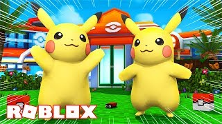 WE TURN PIKACHU INTO ROBLOX