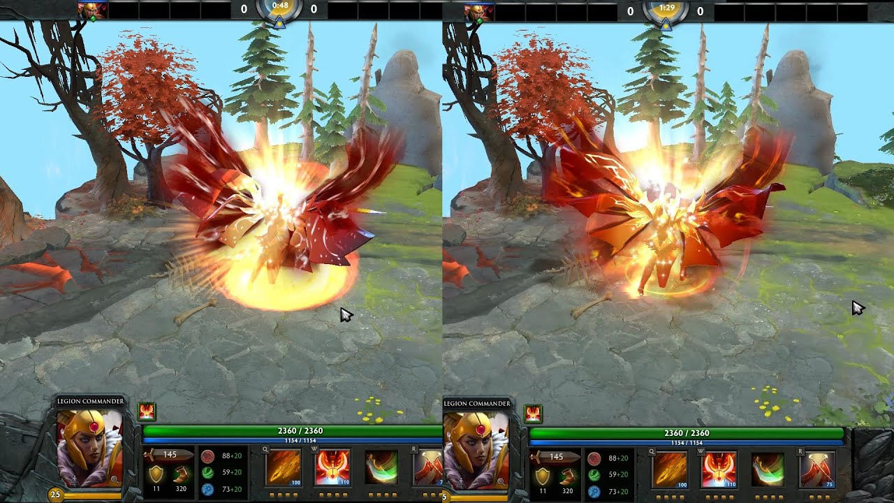 Legion Commander Prestige IMMORTAL TI6 Dota 2