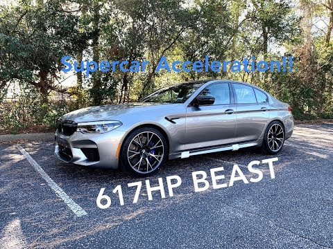 2019 BMW M5 Competition POV Drive, Startup, And LOUD Revs!