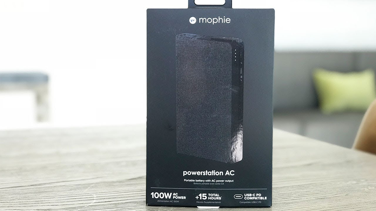 huge discount 66e77 4645f Mophie Powerstation AC Unboxing and Review!
