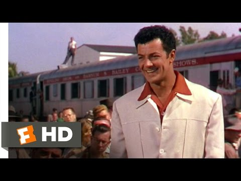 The Greatest Show on Earth (3/9) Movie CLIP - The Great Sebastian Arrives (1952) HD