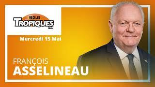 Entretien de François Asselineau sur Tropiques FM - Mercredi 15 mai 2019