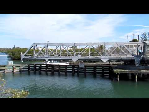 Casey Key Swing Bridge Over The ICW
