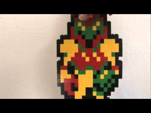 Metroid - Samus Aran LEGO Sculpture - YouTube